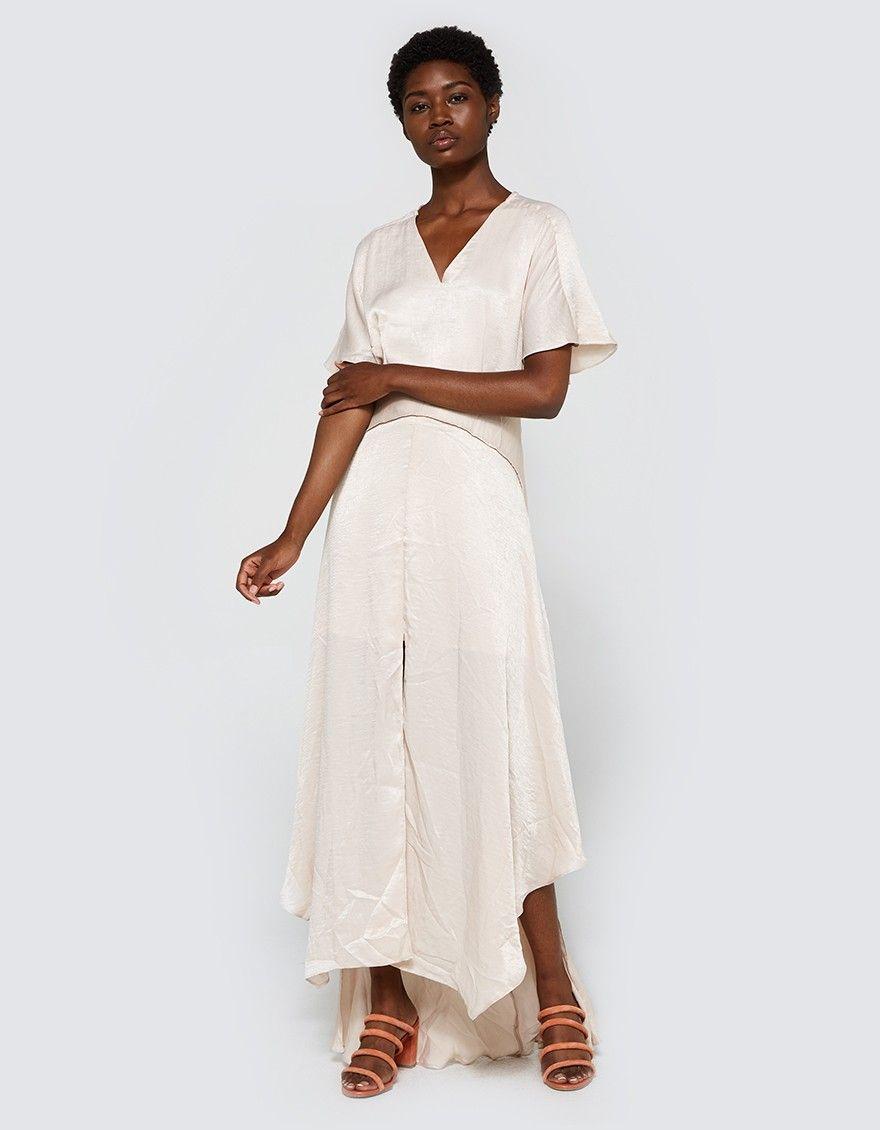 Griffith dress dream pinterest draped skirt flutter sleeve