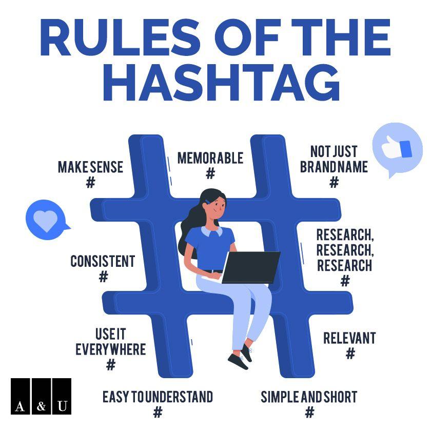 Rules Of Hashtag | App development companies, Mobile app development  companies, How to memorize things
