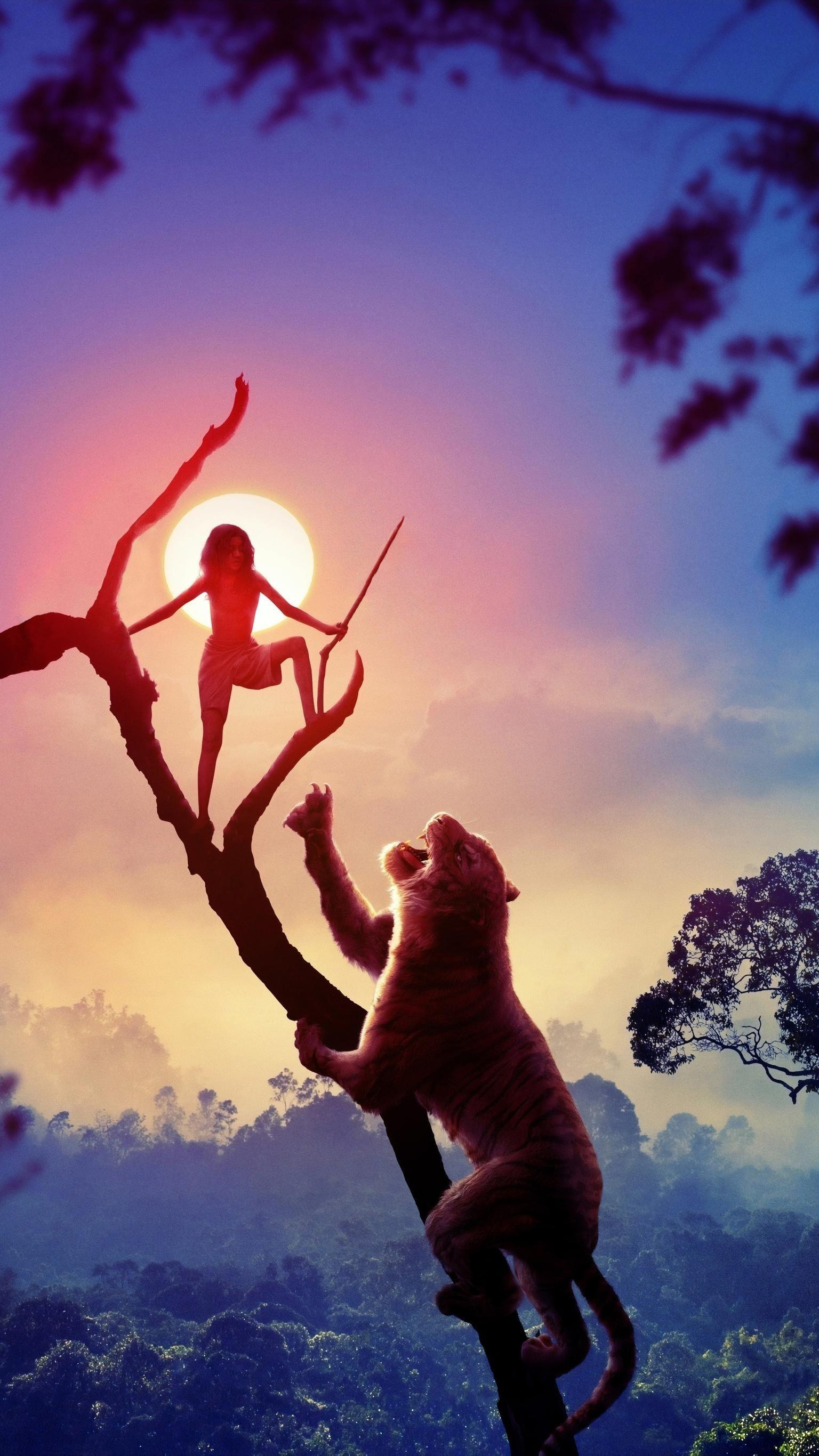 Mowgli Legend Of The Jungle 2018 Phone Wallpaper Escoteiros Cartazes De Filmes Desenhos