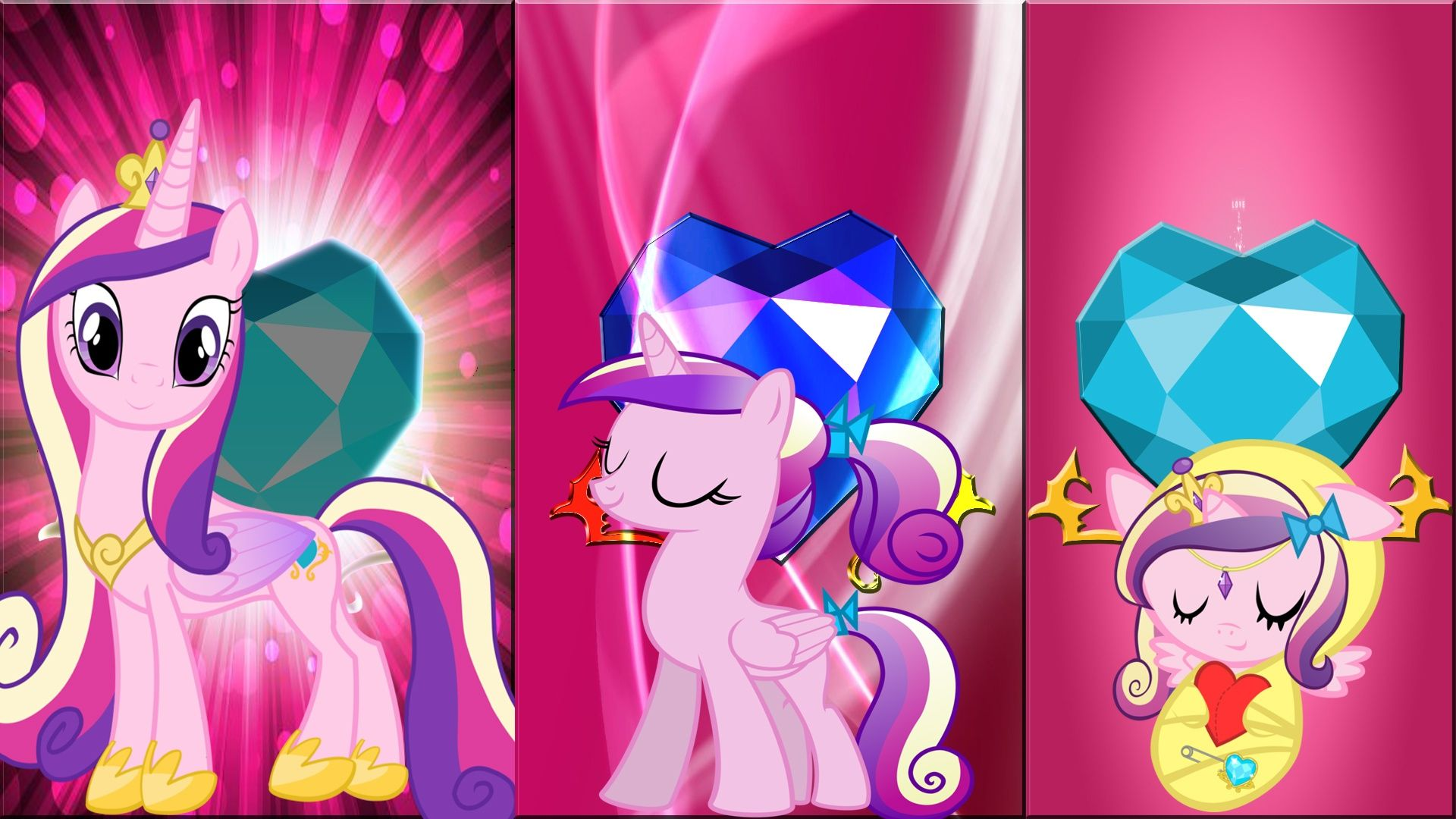 Mlp princess cadence and shining armor filly princess - My little pony cadence ...