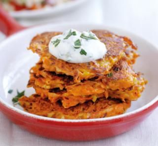 Carrot and feta fritters are the perfect quick meal idea get the carrot and feta fritters are the perfect quick meal idea get the recipe now forumfinder Gallery