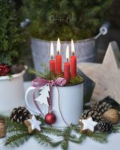 Photo of – Christmas crafts – Christmas crafts # house entrance # Christmas crafts …