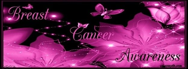 Breast cancer awareness spread on facebook
