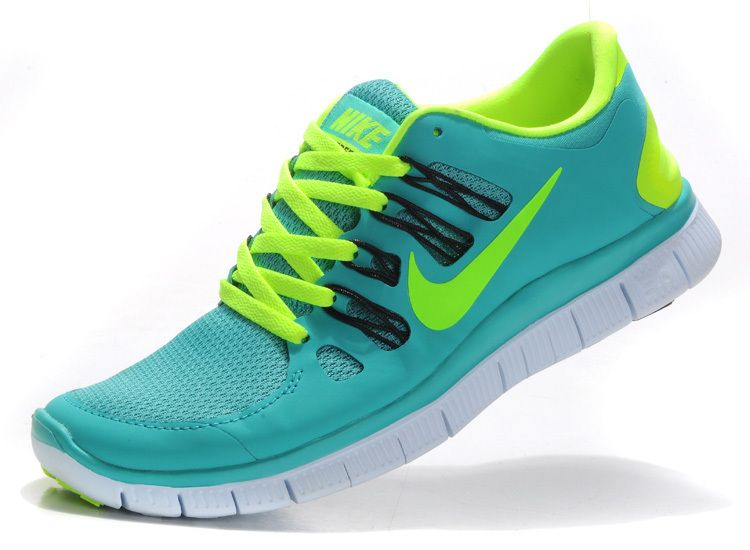Nike Free Run 5.0 V2 Women Green Apple Fluorescent Green