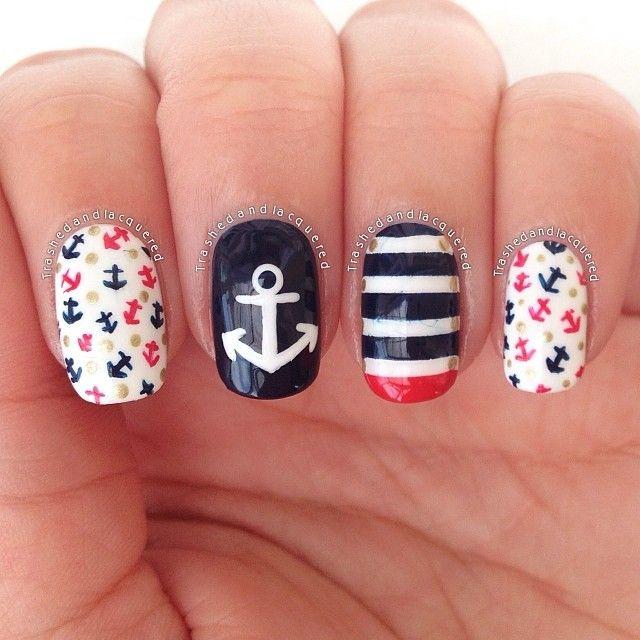 Instagram media by trashedandlacquered #nail #nails #nailart
