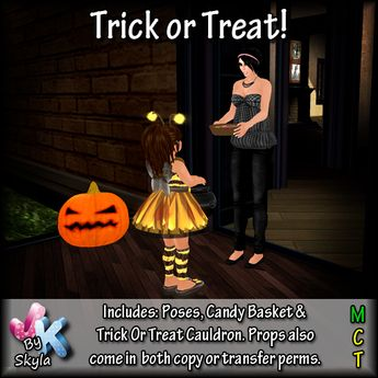 !JK! Trick Or Treat!