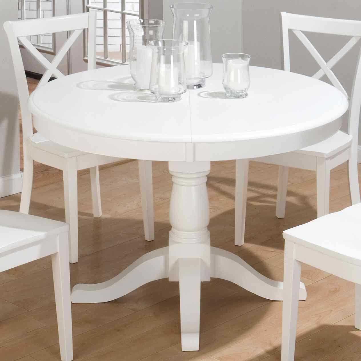 white kitchen table chairs   küchentisch rund, esstisch