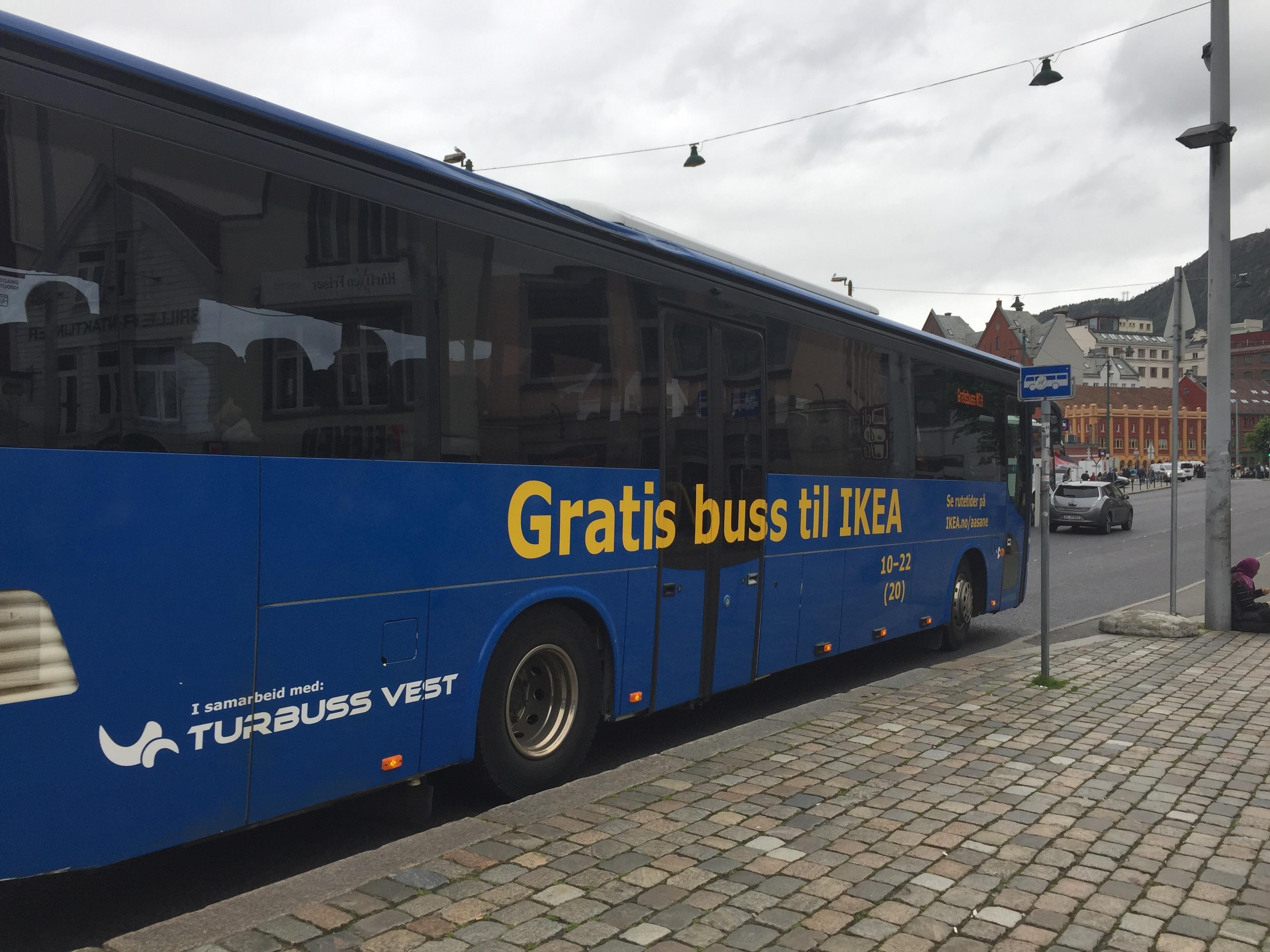 ikea buss oslo
