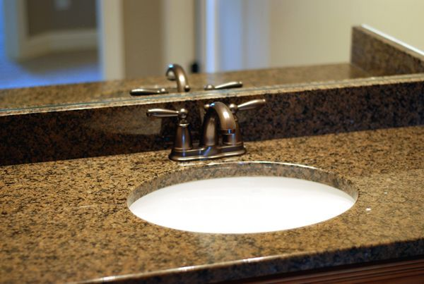 Oil Rubbed Bronze Faucet With Granite