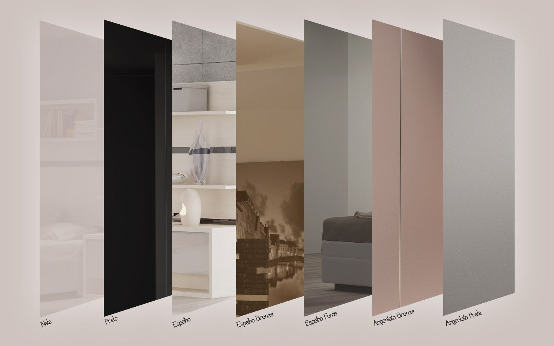 Vidro Reflecta Armario De Vidro Design De Armario Closet Com