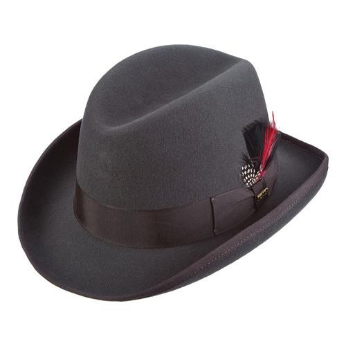 Homburg Mens Hat 100/% Wool Felt Lined Winston Churchill Classic Hat Hand Made UK