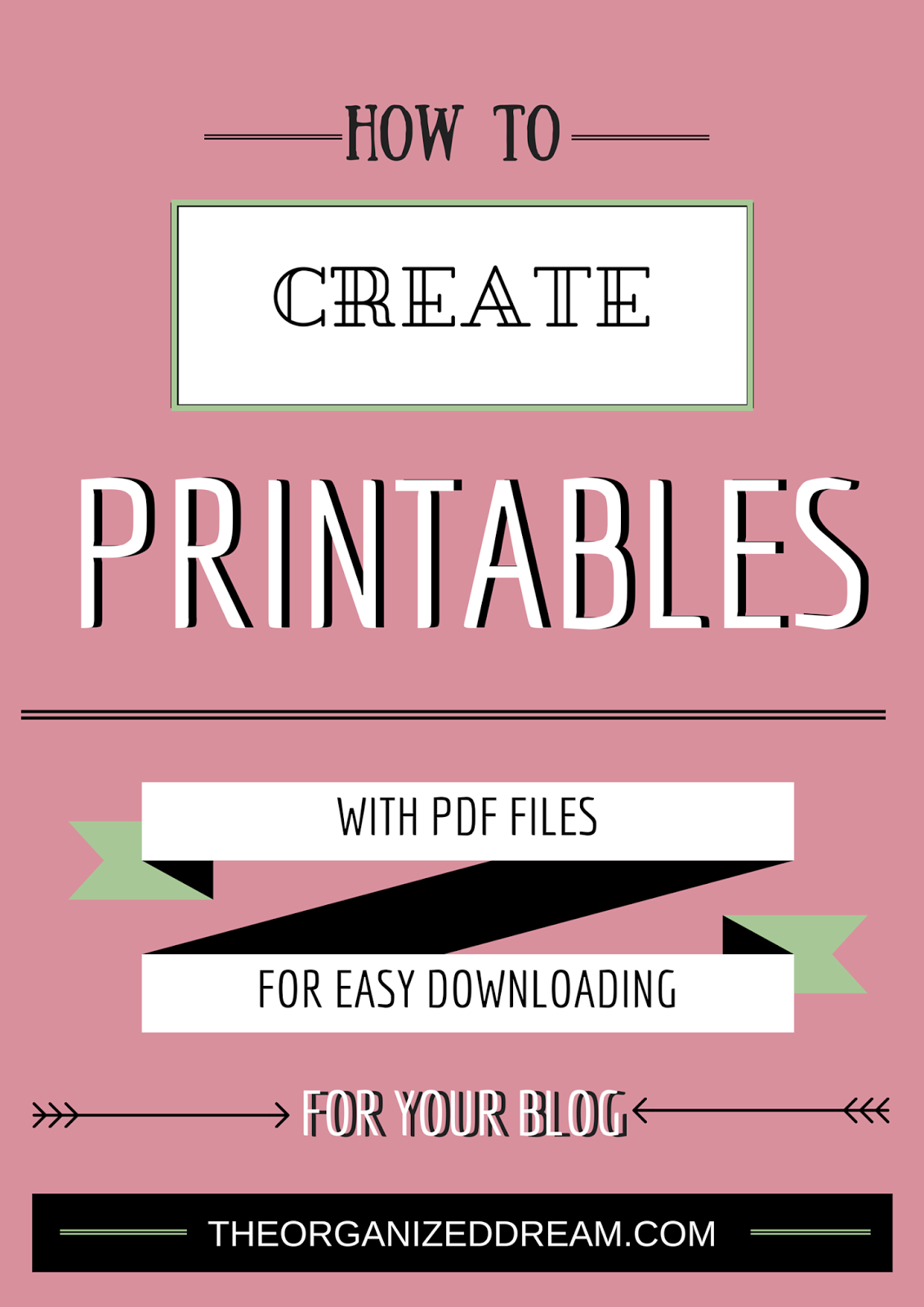 Easy tutorial to create your own #printables | Share Your Craft ...