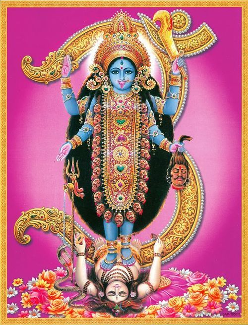 Image result for image of goddess kali
