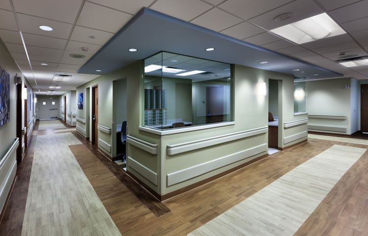 Clinic reception desk google search traditions clinic for Medical office interior design