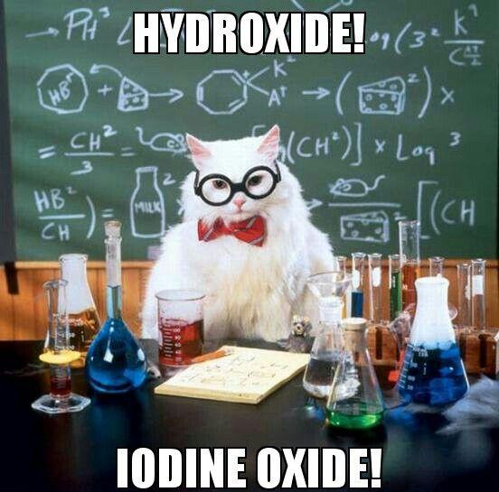 OH-IO Chemistry Cat