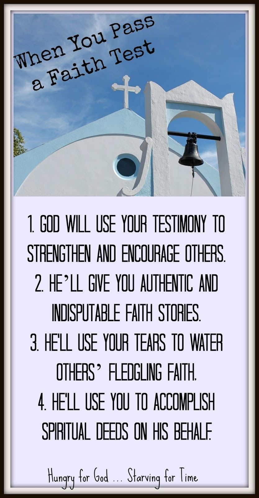 Could God Be Testing You? Bible love, God, Bible study group