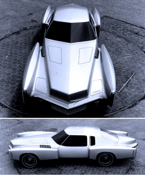 Oldsmobile Toronado Prototype 1969 A Design Study For The Second Generation Toronado Oldsmobile Oldsmobile Toronado Concept Cars
