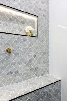 38++ Fish scale marble mosaic tile ideas in 2021