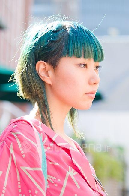 Street Fashion In Harajuku Edgy Hair Harajuku Hair Hair Inspiration