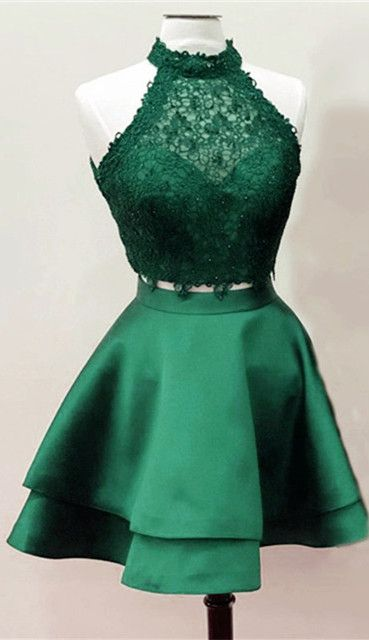 emerald green green homecoming dress
