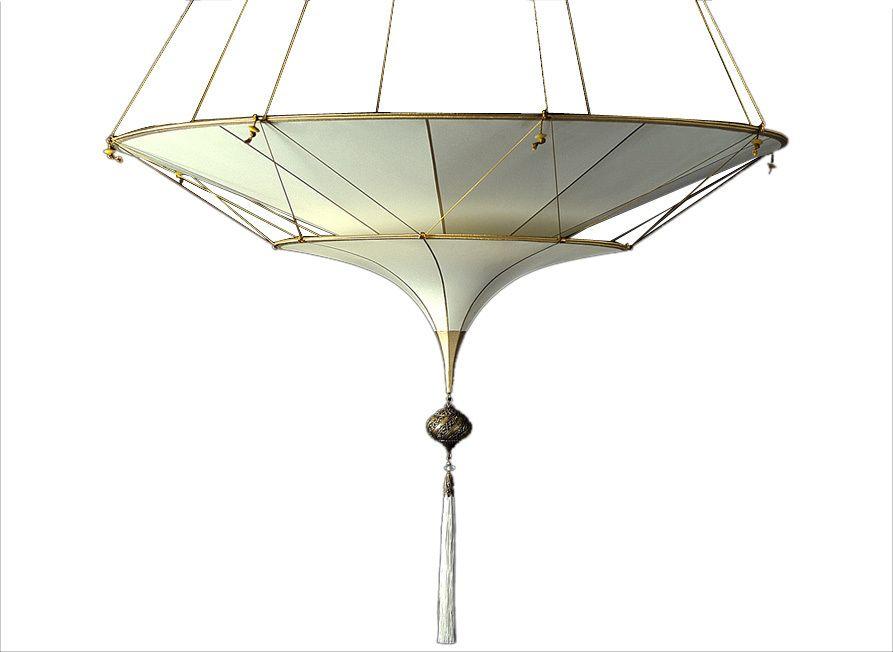 Venetia studium fortuny 086 sh 3 scheherazade 2 tiers in plain silk suspended