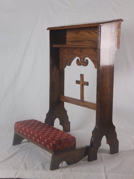 Kneeler Big N Tall Church Furniture Prayer Chair Prayer Corner