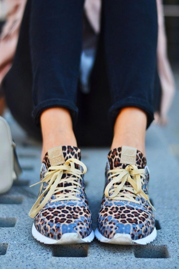 new balance mujer leopardo