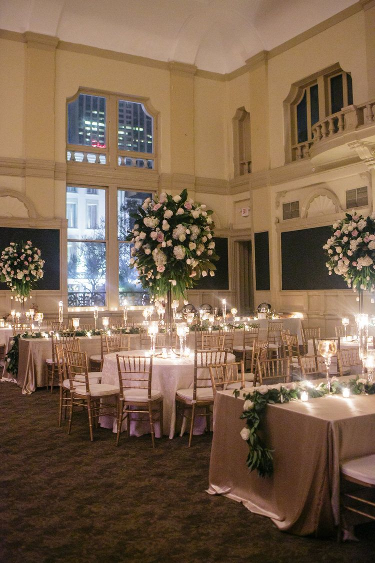 how to transform an open ballroom with stunning decor | magnolia