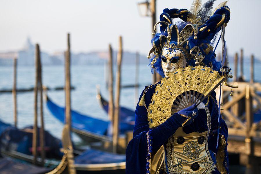 Venetian Mask. Gold and Blue by Denis Cherkashin on 500px