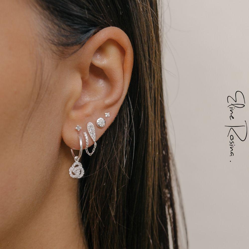 a99c12889 Eline Rosina   Earspiration   Silver   Earparty   Earcandy   Earrings   Ear  studs