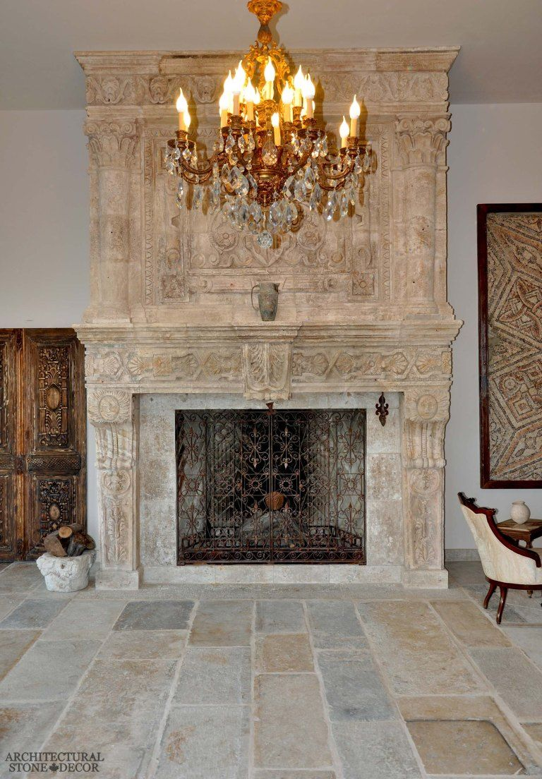 Beautiful Old Antique Reclaimed Limestone Stone