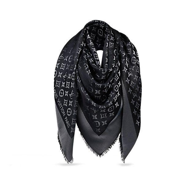 Châle Monogram Shine - Accessoires - Écharpes et foulards   LOUIS VUITTON ad125b5e590