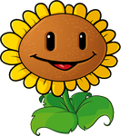 Sunflower | Isaac's birthday party | Plant zombie, Plants vs