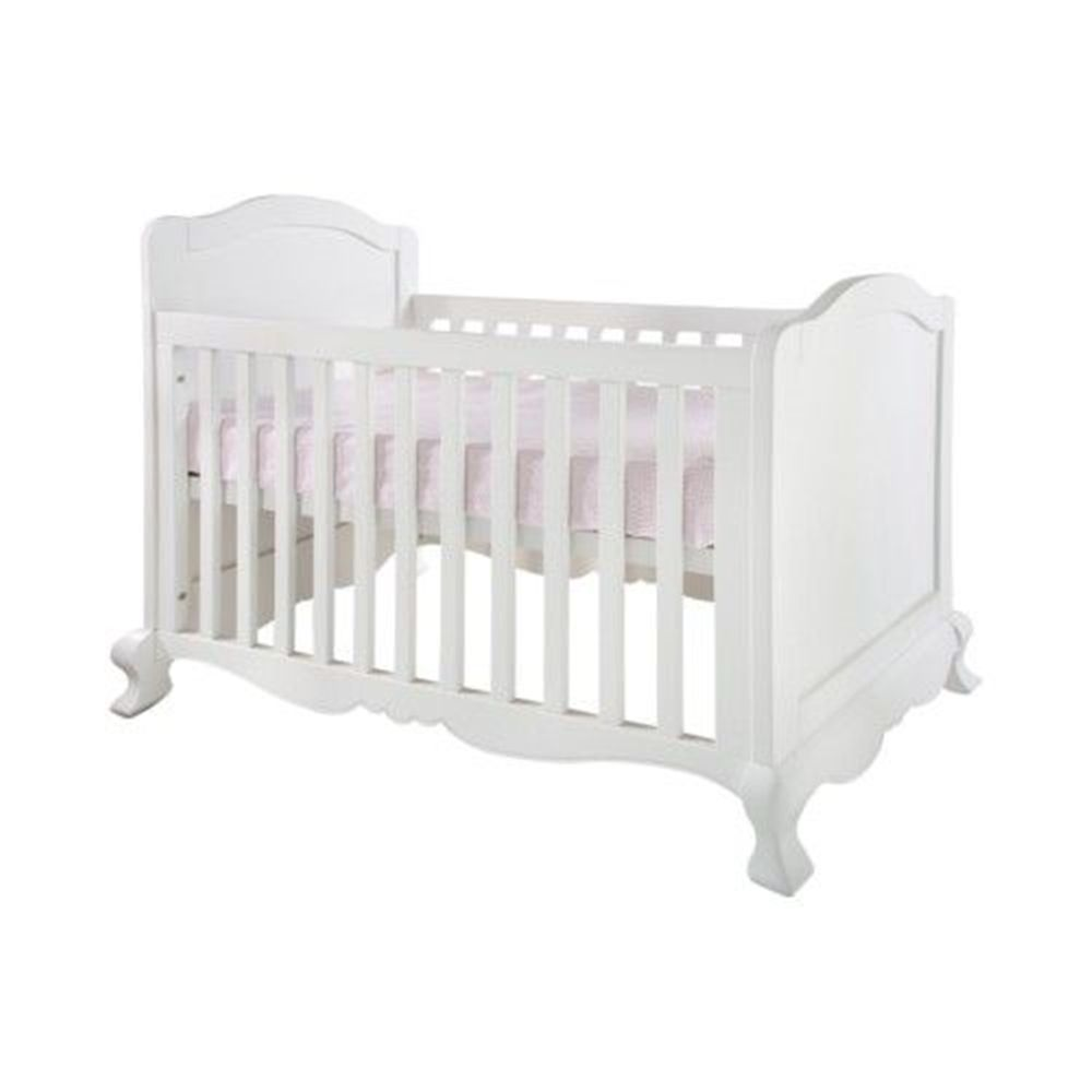 Kidsmill Royal Cot White Baby Cribs Cot Bedding Baby Bed
