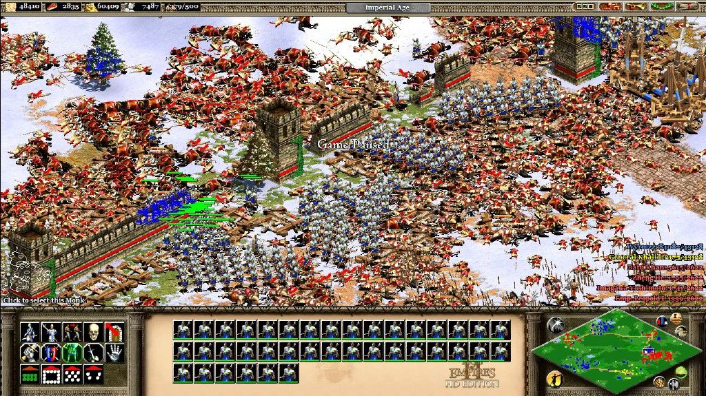 Lesson Of The Day British Longbowmen Don T Mess Around From Steam User Wyrmzz Age Of Empires Longbowmen Steam