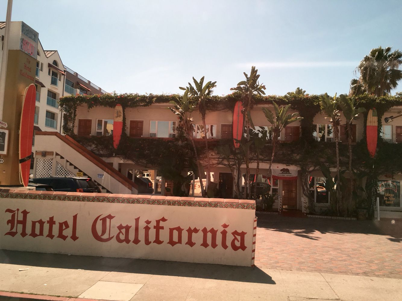 Hotel California Venice Beach Los Angeles Usa