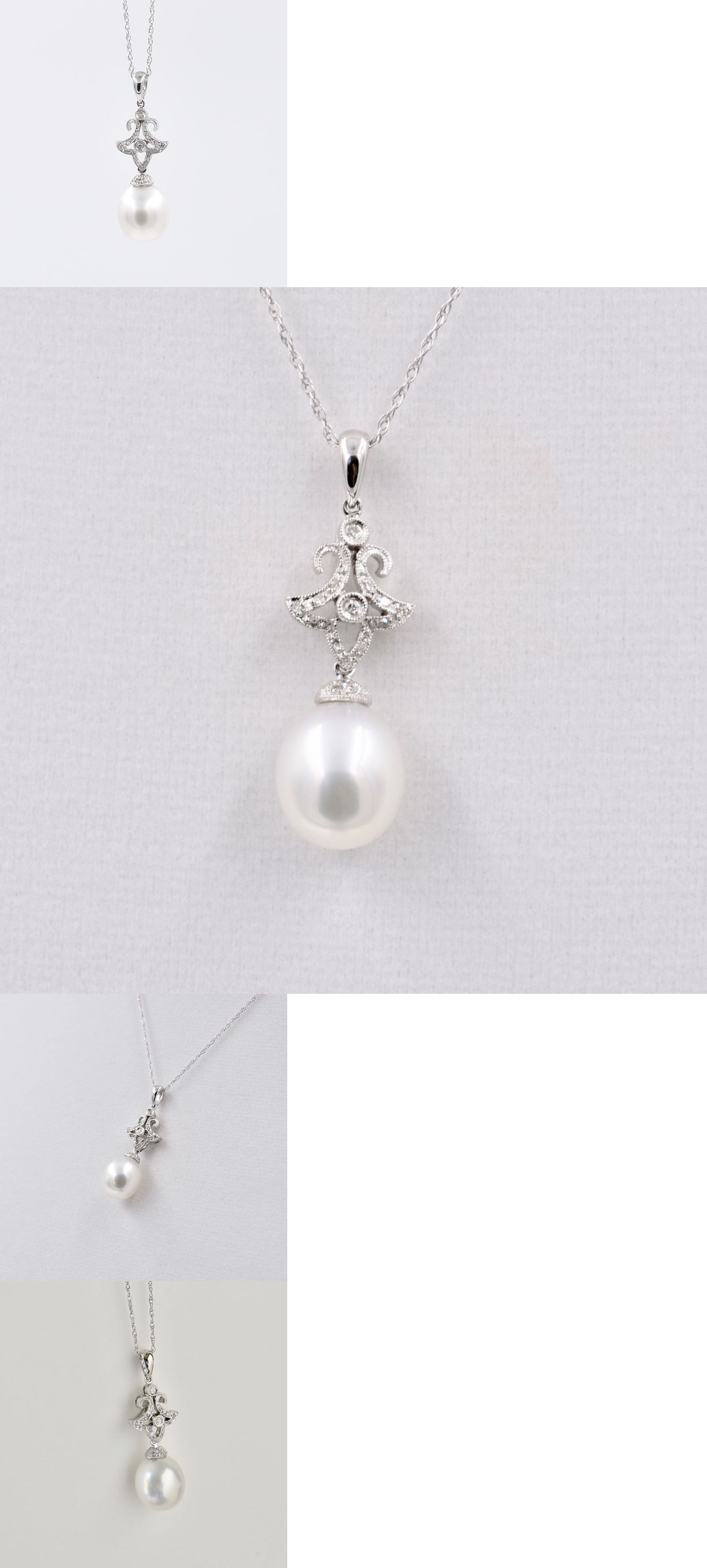 pearls sea white south strand with pearl copy clasp gold