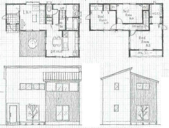 L型 住宅間取り Google 検索 住宅 間取り 間取り 平面図