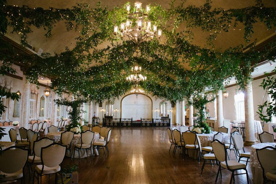 Country Club Decor For Weddings Wedding Ceiling Wedding Themes