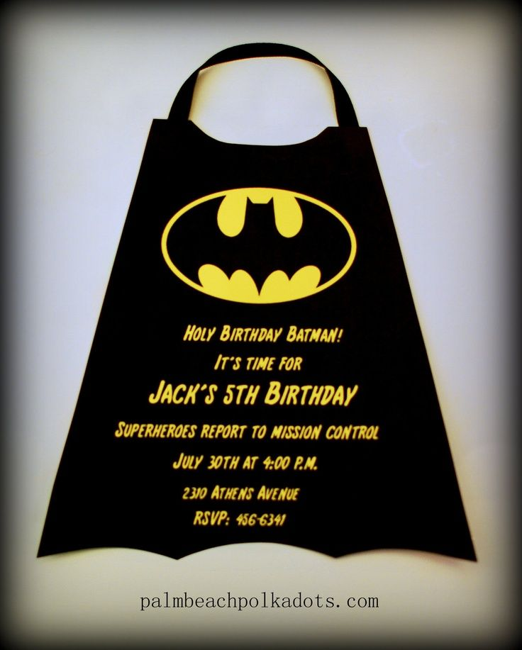 batman party ideas | Batman Party | Kayden\'s Birthday! | Pinterest ...