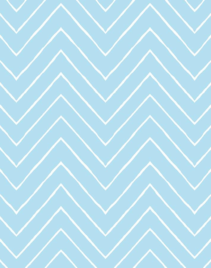 Frances Chevron Wallpaper By Wallshoppe Baby Blue Baby Blue Wallpaper Cute Patterns Wallpaper Iphone Wallpaper Pattern