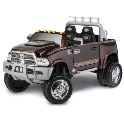 Electric Cars For Kids To Ride Big Truck Toys Boys Dually Dodge