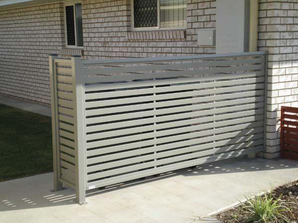 Rubbish bin aircon screening screen enclosures for Garden enclosures screens fences