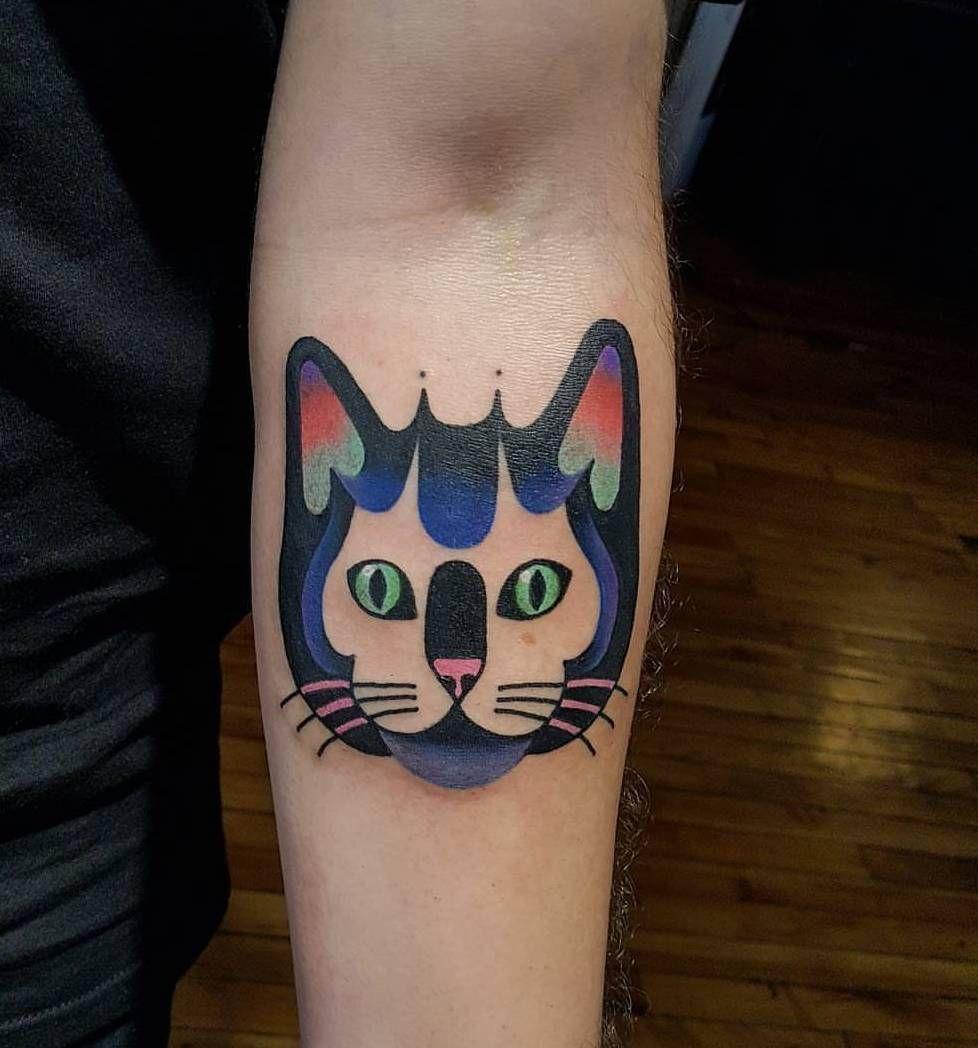 Cat Tattoos Cat tattoo, Funky tattoos, Cat paw tattoos