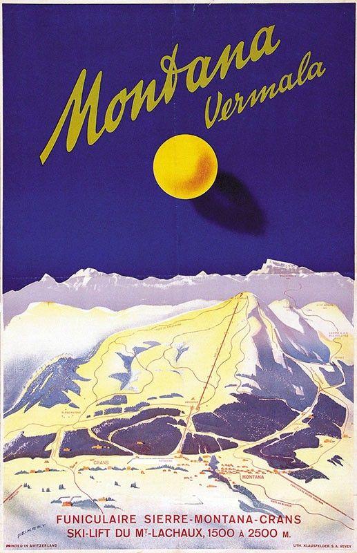 Montana Vermala - 1946 - (Martin Peikert) -