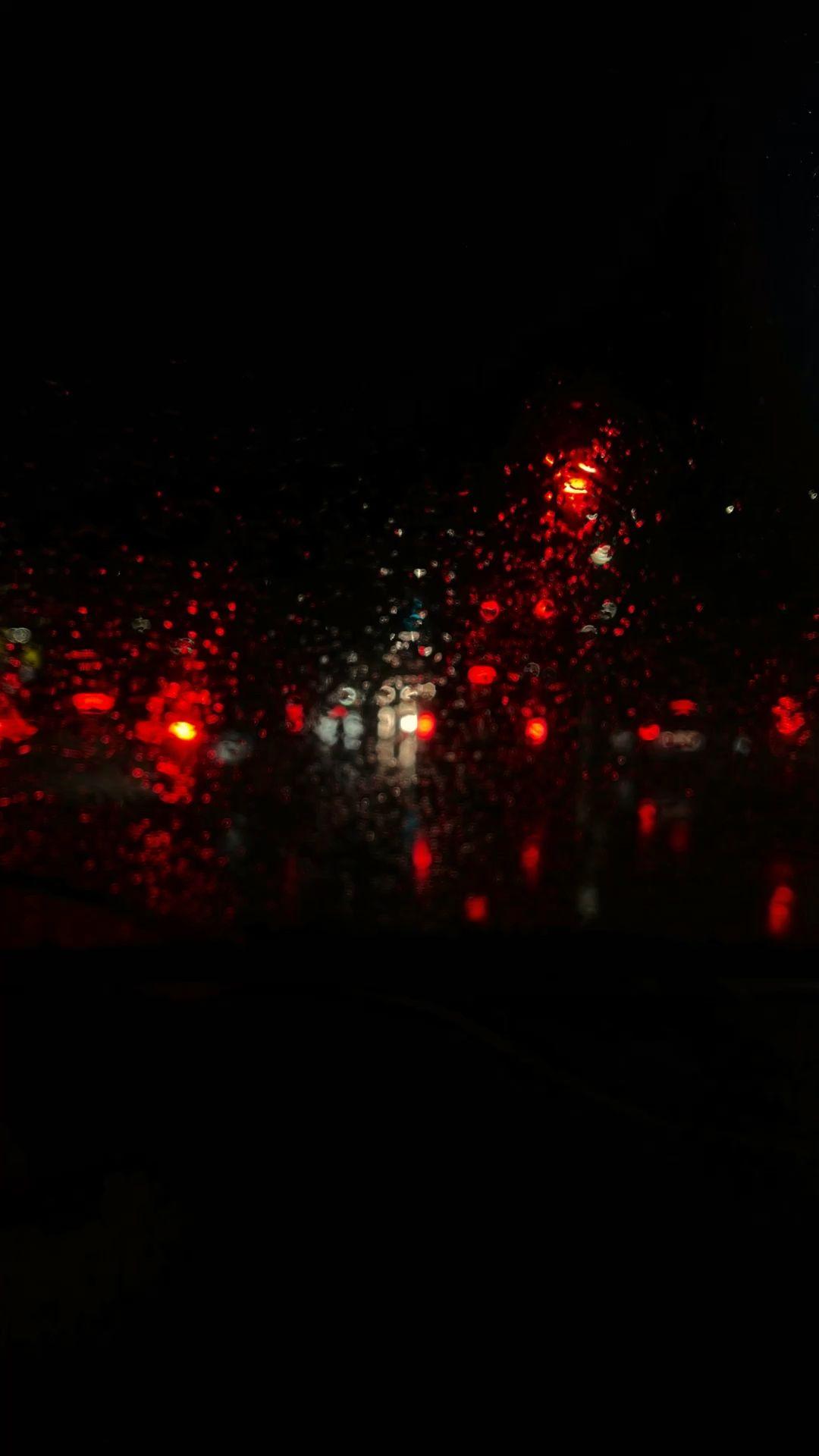 Rainy Night Drive Home