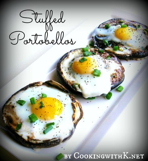 Stuffed Portobellos {Another Great Recipe for a Brunch Idea} #idealproteinrecipesphase1dinner