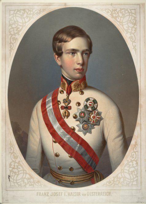 Kaiser Franz Josef Von Osterreich 1848 Kaiser Franz Josef Kaiser Franz Kaiser