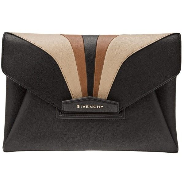 Givenchy Evening Antigona Patch Clutch ($1,335) ❤ liked on Polyvore