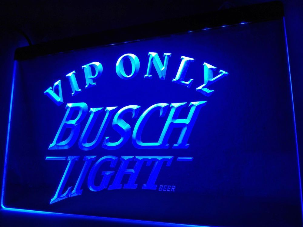 Led Sign Home Decor Gorgeous Vip Only Busch Beer Led Neon Light Sign Home Decor Crafts 2018